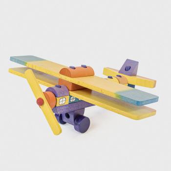 12211-Samolot-z-kolorowych-klockow-maly