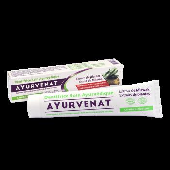 Dentifrice ayurvedique au miswak bio 75ml