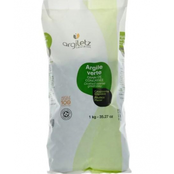 Argiletz - Argile Verte Grain De Concassée 1kg