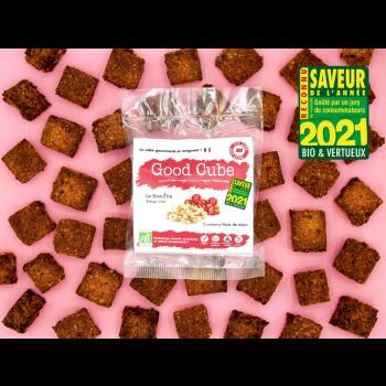 """Cubes gourmands aux cranberries et noix de cajou """"Le Bien-Être"""" BIO - 35g"""