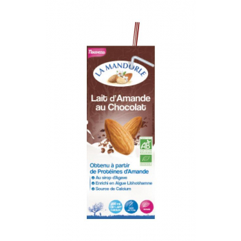"""Briquette Lait d'Amande Chocolat """"LA MANDORLE"""""""