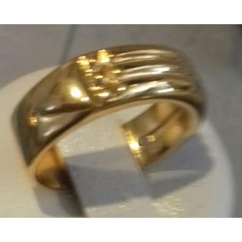 Bague Atlante plaqué or