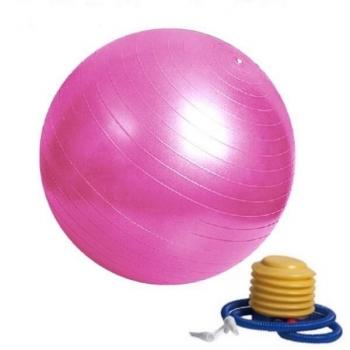 Ballon de Yoga / Fitness Taille S 55 cm Rose