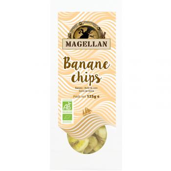 Banane chips BIO 125g - sachet vrac Magellan