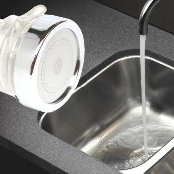 Triple Jet Filtre Universele d'eau pour le Robinet