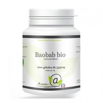 Baobab bio 200 gélules de 355mg