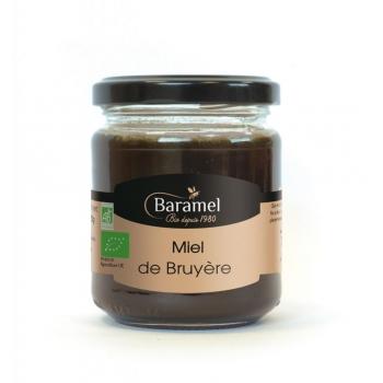 Miel de Bruyère biologique 250gr - Baramel