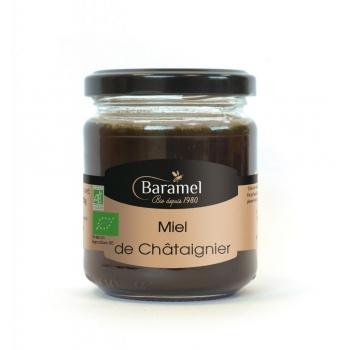Miel de Châtaignier biologique 250gr - Baramel