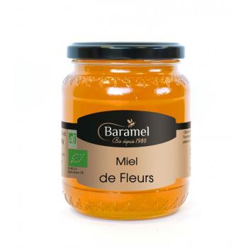 Miel de Fleurs biologique 500gr - Baramel