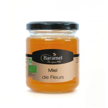 Miel de Fleurs biologique 250gr - Baramel