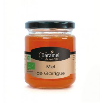 Miel de Garrigue biologique 500gr - Baramel