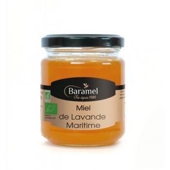 Miel de Lavande maritime biologique 250gr - Baramel