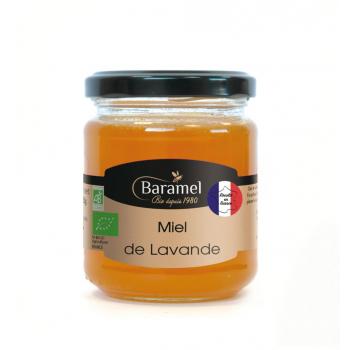 Miel de Lavande France biologique 250gr-Baramel