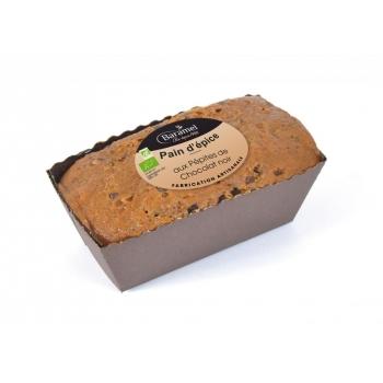 Pain d'épice aux Pépites de Chocolat biologique 450g - Baramel