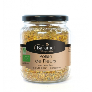 Pollen de Fleurs biologique 220g - Baramel