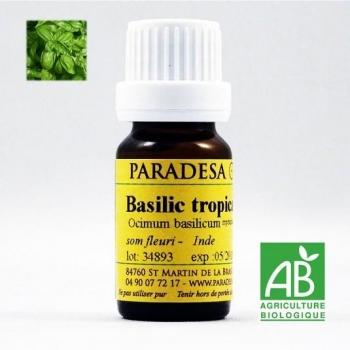 Huile essentielle BIO Basilic tropical 5ml