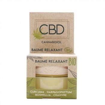 Baume CBD relaxant BIO - 30ml - Abiocom