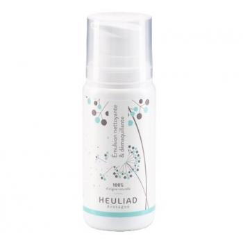 Emulsion nettoyante et démaquillante Heuliad