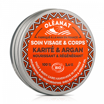 Baume karité et argan biologique 100 ml
