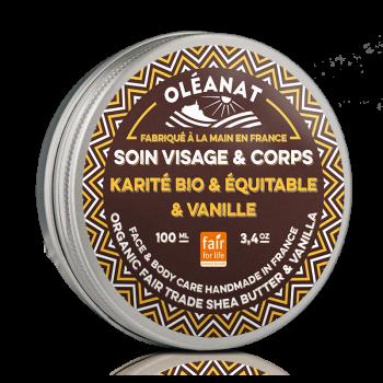 Beurre de karite bio & equitable & vanille - 100ml