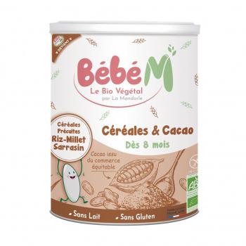"""Céréales et cacao """"BEBE M"""""""
