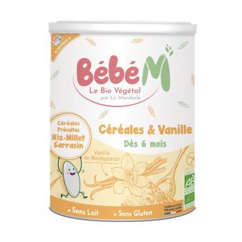 """Céréales et vanille """"BEBE M"""""""