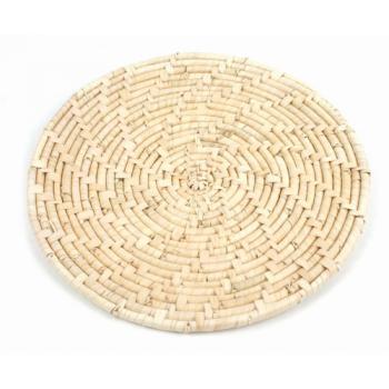 Dessous de plat en feuille de palmier