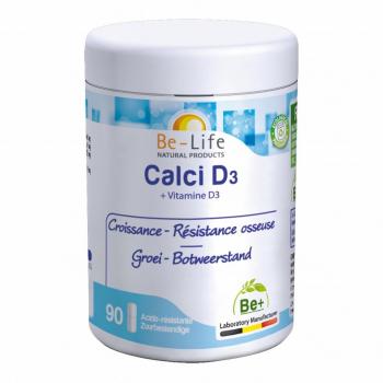 Calci D3 90 gélules - Belife