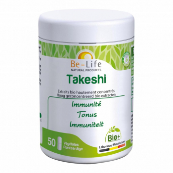 Takeshi 50 gélules Bio - Be-Life