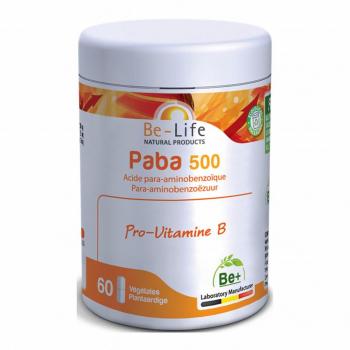 Paba 500 60 gélules - Be-Life