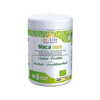 Maca 2000 90 gélules Bio - Be-Life