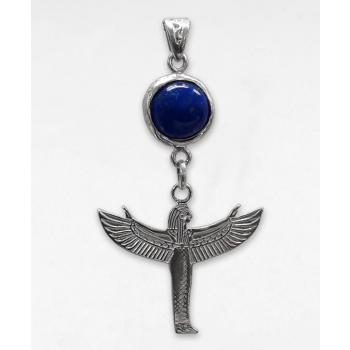Déesse Isis (envol) et pierre Lapis-lazuli