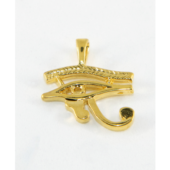 Oeil d'Horus plaqué or