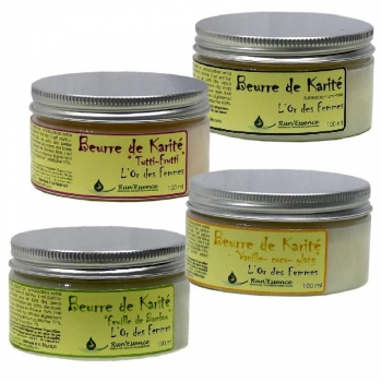 beurre karité vanille coco ylang Run'essence