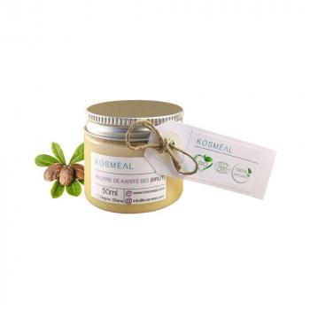 Beurre de karité brut BIO - 100% Pur Et Naturel-  50ml