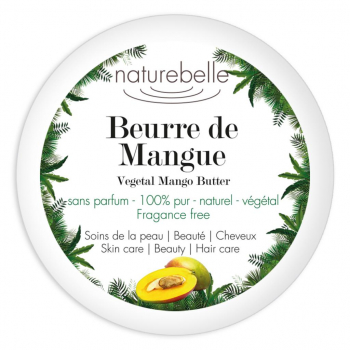 Beurre de mangue 100ml Naturebelle
