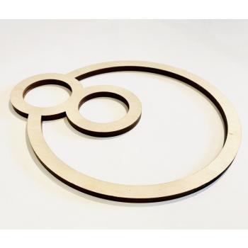 Symbole énergétique BeYou Energizer en bois