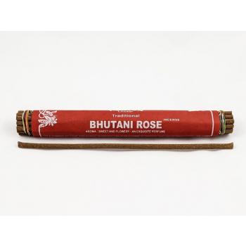 "Encens traditionnel Tibetain ""Bhutani Rose"" 19 bâtonnets - Amour"