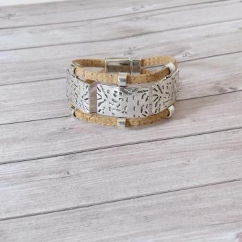 Bracelet en liège naturel