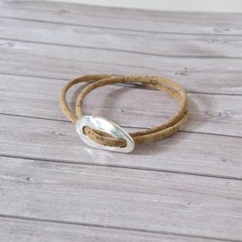 Bracelet en liège Marie