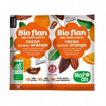 bio-flan-cacao-saveur-orange-natali