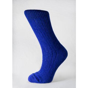 Chaussettes en Mohair Bleu de Suède