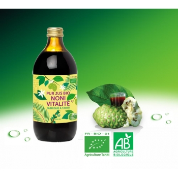 jus de Noni Bio de Tahiti 100% pur 500 ml