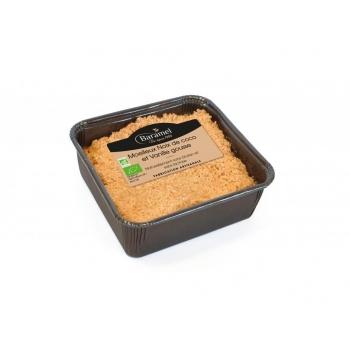 Gâteau moelleux A la Noix de Coco et Vanille biologique 150g - Baramel                                             (et naturellement sans lactose)