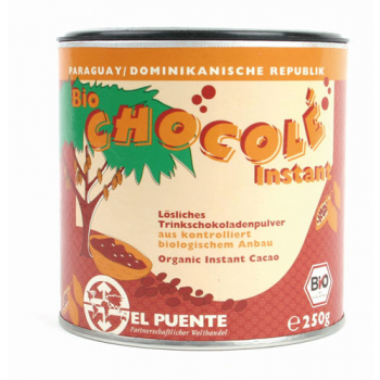 Cacao en poudre soluble, bolivie