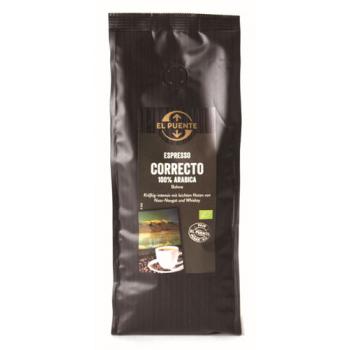 Espresso correcto, en grains