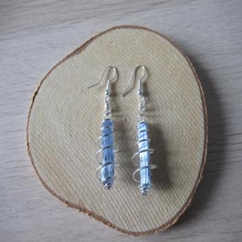 Boucles d'oreilles Cyanite