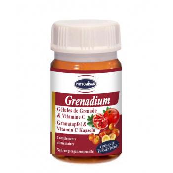 Grenade et Vitamine C en gélules : Grenadium