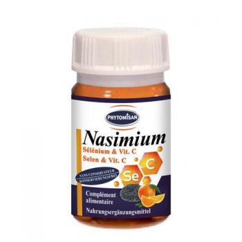 Sélénium et Vitamine C en gélules : Nasimium