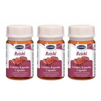 Reishi rouge gélules (Pack de 3 boîtes)